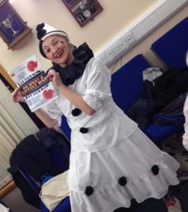 Margaret in costume